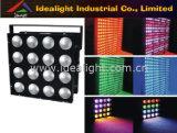 وحدة وردة حائط مصفوف RGB 3in1 LED 16 PCS 30 واط