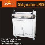 Boway Js500の本のペーパー薄板になるコータをつける熱い溶解の接着剤の熱ローラー