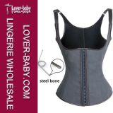 Shaper van het Latex van vrouwen het RubberKorset Cincher van het Vest met Grootte xs-Xxxl (l42635-3)