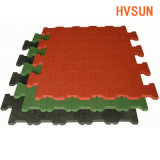 Pavimentazione di gomma elastica variopinta e durevole di sicurezza del centro sportivo della pavimentazione della corte di Futsal