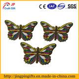 Divisa modificada para requisitos particulares del metal de la dimensión de una variable de la mariposa de la alta calidad