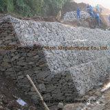 Cesta de gabião galvanizado revestido de PVC / Caixa de gabião