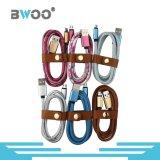 Bwoo cuir populaire de gros câble USB de chargement de données