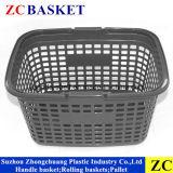 Zc-1 Novo material de PP da Cesta de supermercado de plástico