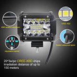 60W 3 le righe all'ingrosso 12V impermeabilizzano la barra chiara di 4inch LED fuori strada