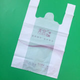 Sac en plastique durable de gilet pour le supermarché