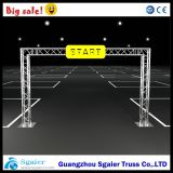 290*290mm Aluminum Start와 Finish Line Truss, Goal Post Truss, Marathon Truss