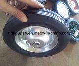 rotella di gomma solida della polvere di pollice 10X4 per la riga della barra di rotella