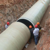 Tubo /Cable de la cubierta de cable de FRP que rosca el tubo