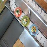 Convoyeur de sushi de catégorie comestible pour le cafétéria, machine chaude de convoyeur de bac