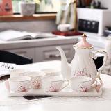 コーヒーカップのスーツのティーカップの陶磁器の茶および水コップ