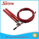 Facile et simple de traiter la corde de saut de câble de vitesse avec le traitement en aluminium, corde de saut, corde de saut à grande vitesse réglable, corde de saut de Crossfit