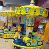Carosello piacevole dei bambini della macchina del campo da giuoco di disegno nel centro commerciale (C11)