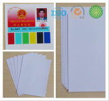 Lamiantion de inyección de tinta de PVC de tarjetas de identificación de materiales de impresión