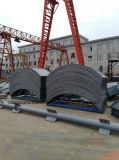 150t Silo de van uitstekende kwaliteit van het Cement van de Vlok voor Concrete het Groeperen Installatie