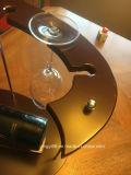 Cremagliera di visualizzazione unica da tavolino su ordinazione diretta del vino di figura della fabbrica
