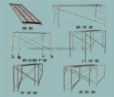 Construção em Aço de plataforma móvel estrutura H andaimes fábrica na China