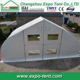 Curva exterior de alumínio Sport tenda para ténis de mesa