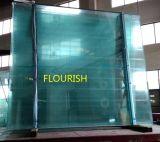 緩和された薄板にされたガラスのパネル