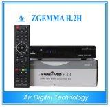 De Satelliet & Aardse Ontvanger van digitaal SatellietT2 DVB S2 + DVB van de Ontvanger met Dubbele Kern cpu Zgemma H. 2h