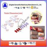Macchina per l'imballaggio delle merci automatica del biscotto della cialda Swh-7017
