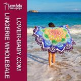 Couverture de serviette de plage en forme de fleur Mandala (L38355)