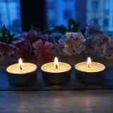 8g weiße Unscented Tealight Kerzen 100PCS