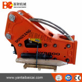 Side Type Excavator Hydraulic Breaker with 140mm Chisel