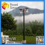 Indicatore luminoso solare esterno della parete del giardino dell'acciaio inossidabile LED con il sensore di movimento