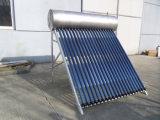 Kompakt-Druck Heat Pipe Solar Water Heater (Silber PVDF Plate)