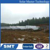 지상에 의하여 거치되는 태양 전지판 PV 설치 시스템 놀이쇠 연결관