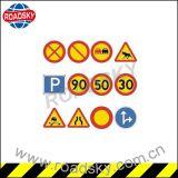 Panneau r3fléchissant en aluminium personnalisé de signal d'alarme de sécurité routière