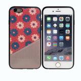 iPhone аргументы за мобильного телефона затира TPU PU яркия блеска