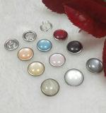 Kleid-Zubehör-Perlen-Schutzkappen-Zinke-Verschluss-Taste