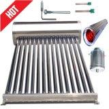 De compacte ZonneVerwarmer van het Water (het VacuümZonnestelsel van de Buis)