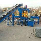 Bloc creux concret, machine à paver de verrouillage faisant la machine