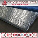 Hoja acanalada galvanizada trapezoidal del material para techos