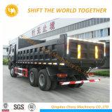 交通機関4の車軸28 CBM Shacmanのダンプトラック