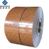 PE/PVDF Ral/bois/bobine en aluminium à revêtement de couleur de pierre pour la construction et de décoration