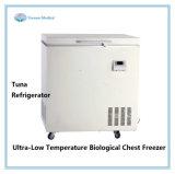 300L -60の程度の箱様式の上の開放された冷凍庫の直立した低温学のフリーザー