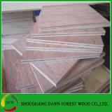 Utilizado para la madera contrachapada del suelo 28m m Keruing del envase