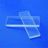 Rectangle microscope de verre de quartz clair la diapositive 76*25*1mm