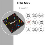 H96 Max + RK3328 4 Go de RAM 32 GO ROM TV Box USB 3.0 Android 9.0 Set Top Box