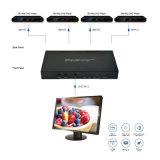 HDMI Multi-Viewer 4X1 Quad avec changeur de transparente