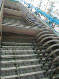 O módulo submerso da membrana do F aplicou-se no tratamento da água municipal