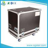 La botte sûre de finition en aluminium de stockage de valise d'outillage d'usine partie la mousse de cas à l'intérieur de réglable