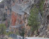 中国のステンレス鋼ワイヤー斜面の保護網