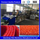 Double couleur tapis en soie de pulvérisation de la beauté de l'extrudeuse en PVC