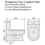 6009 [أوسترلين] معياريّة صحّيّ سلك علامة مائيّة غرفة حمّام مرحاض خزفيّ