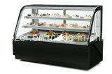 Armadietto di esposizione refrigerato verticalmente mobile della torta